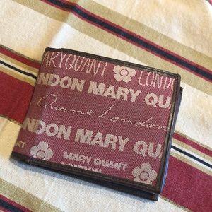 Men wallet Mary Quant London